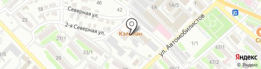 ПАРТИЯ на карте Петропавловска-Камчатского