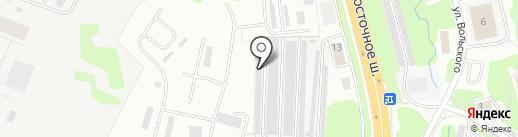 Автокам 41 на карте Петропавловска-Камчатского