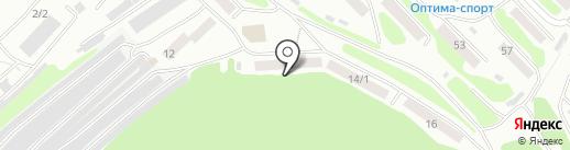 АТЭКС на карте Петропавловска-Камчатского