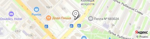 Нотариус Руденченко Л.В. на карте Петропавловска-Камчатского