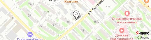 Камчатский центр сертификации на карте Петропавловска-Камчатского