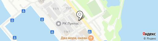 Smoke Machine на карте Петропавловска-Камчатского