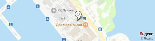 Морстройснаб на карте Петропавловска-Камчатского