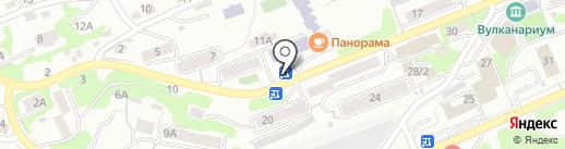 Араз на карте Петропавловска-Камчатского