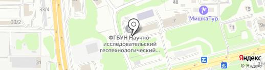 Всероссийский научно-исследовательский институт физико-технических и радиотехнических измерений на карте Петропавловска-Камчатского