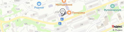 Избирательный участок №20 на карте Петропавловска-Камчатского