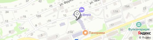 Кондитерский цех на карте Петропавловска-Камчатского