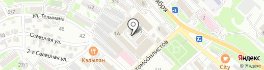 Пульты на карте Петропавловска-Камчатского