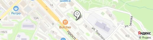 Кредитный юрист на карте Петропавловска-Камчатского