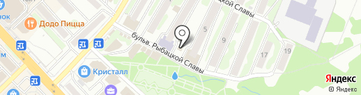 Резка стекла и зеркал на карте Петропавловска-Камчатского