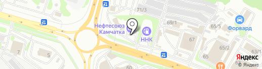 Электрик на карте Петропавловска-Камчатского