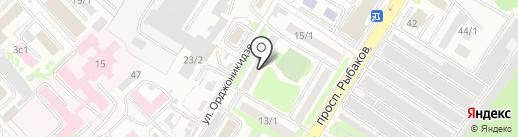 СибИнтерСтрой на карте Петропавловска-Камчатского
