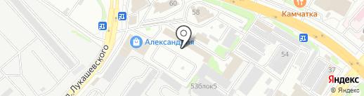 ТрансКам на карте Петропавловска-Камчатского