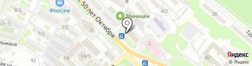Камчатский центр поддержки предпринимательства на карте Петропавловска-Камчатского