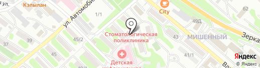 КамТехноСтрой на карте Петропавловска-Камчатского
