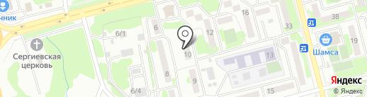 Мед-лайн на карте Петропавловска-Камчатского