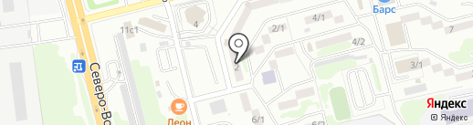 Кабинет психологической консультации и помощи на карте Петропавловска-Камчатского
