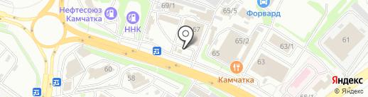 Автосвет-Автозвук на карте Петропавловска-Камчатского