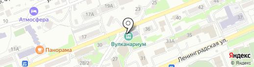Резиденция Деда Мороз на карте Петропавловска-Камчатского