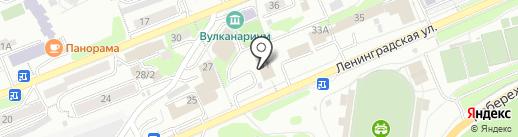 СДЮСШОР единоборств на карте Петропавловска-Камчатского