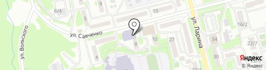 Камчатский учебно-методический центр на карте Петропавловска-Камчатского