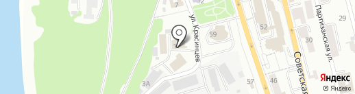 Техностройсервис на карте Петропавловска-Камчатского