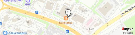 Автомастерская на карте Петропавловска-Камчатского