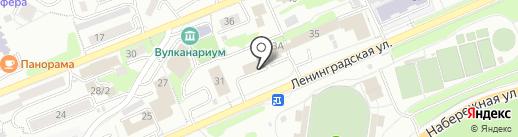 Альбатрос-Сервис на карте Петропавловска-Камчатского