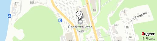 Министерство специальных программ и по делам казачества Камчатского края на карте Петропавловска-Камчатского