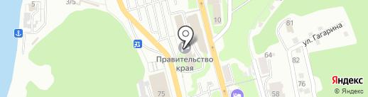 Аптечный киоск на карте Петропавловска-Камчатского