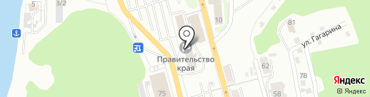 Банкомат, Банк ВТБ 24 на карте Петропавловска-Камчатского