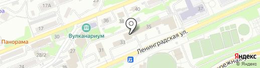 Встреча на карте Петропавловска-Камчатского