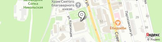 Управляющая компания территории опережающего социально-экономического развития Камчатка на карте Петропавловска-Камчатского