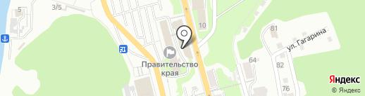 Совет муниципальных образований Камчатского края на карте Петропавловска-Камчатского