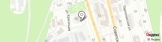 Кредит-Оценка на карте Петропавловска-Камчатского