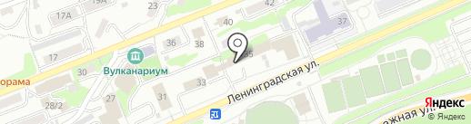 Первое маршрутное телевидение на карте Петропавловска-Камчатского