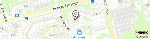 Домашний текстиль на карте Петропавловска-Камчатского