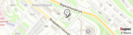 Прибор-ремонт на карте Петропавловска-Камчатского