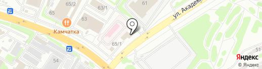 САУДЭР на карте Петропавловска-Камчатского