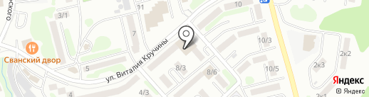 Авантаж на карте Петропавловска-Камчатского