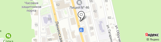 Нотариус Ильина Е.В. на карте Петропавловска-Камчатского