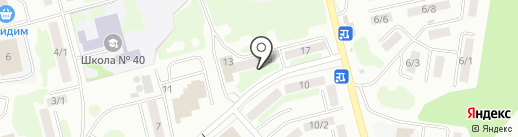Квартирное бюро на карте Петропавловска-Камчатского