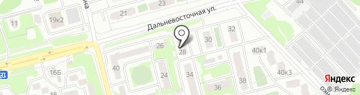 Фёст на карте Петропавловска-Камчатского