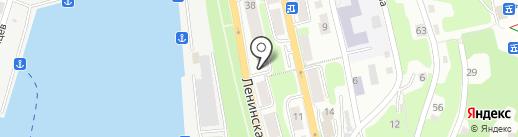 Аптека №1 на карте Петропавловска-Камчатского
