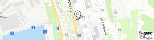Управление капитального строительства и ремонта на карте Петропавловска-Камчатского