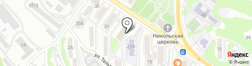 Управление ЖКХ г. Петропавловска-Камчатского на карте Петропавловска-Камчатского