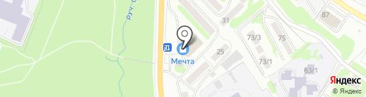 INVENTO на карте Петропавловска-Камчатского