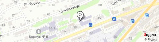 КамчатГТУ на карте Петропавловска-Камчатского