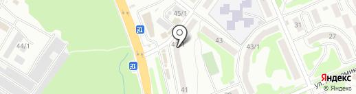 Аптека на Королёва на карте Петропавловска-Камчатского
