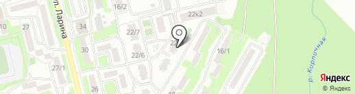 Камчатская стоматологическая клиника на карте Петропавловска-Камчатского